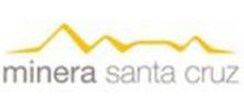 Logo Minera Santa Cruz